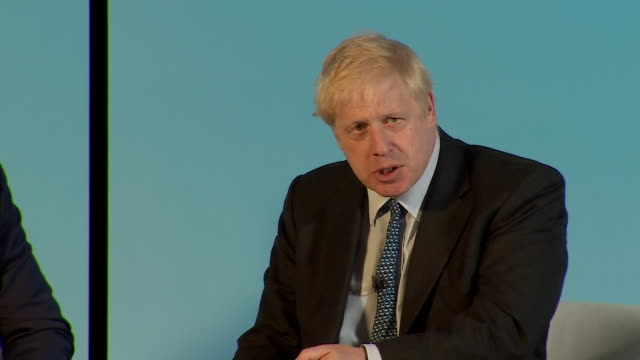 stockvideo's en b-roll-footage met boris johnson saying newspapers should not face prosecution for leaking information such as the kim darroch emails about the trump administration - aanklager rechtszaak