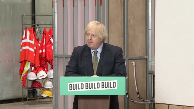 """boris johnson saying people are worried about their jobs after the coronavirus crisis - """"bbc news"""" stock videos & royalty-free footage"""