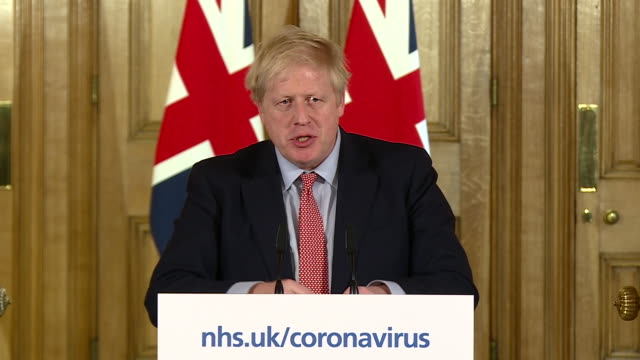 boris johnson saying the isolation of elderly people during coronavirus has to be timed to coincide with its peak - timer stock videos & royalty-free footage