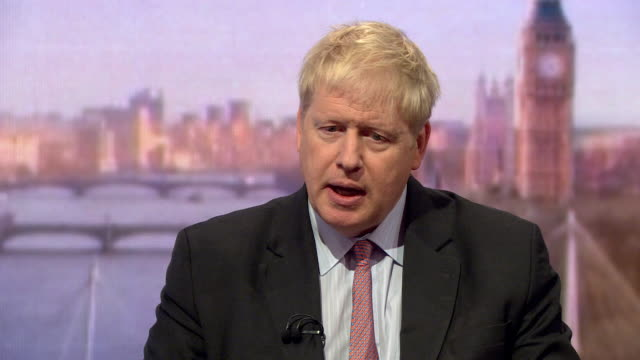 Boris Johnson saying the 'Norway solution' to Brexit would mean the UK would be under more EU regulations than the deal put forward by Theresa May