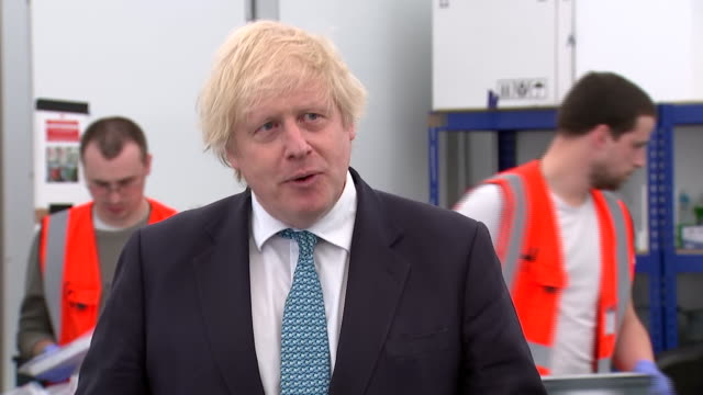 boris johnson saying the uk economy has been hit hard but the uk will bounce back due to its resilience and creativity - creativity stock videos & royalty-free footage