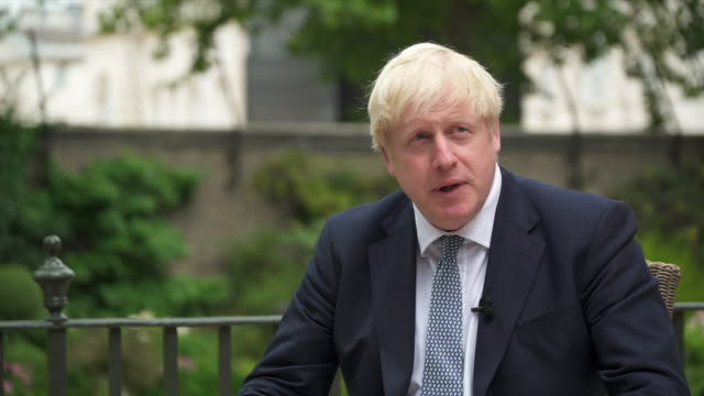 "boris johnson saying the uk is a nation of ""incredible natural resilience, fortitude and imagination, and i think we will bounce back"" from... - endurance stock videos & royalty-free footage"
