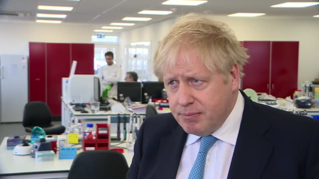 "boris johnson saying there will be ""a substantial period of disruption"" as they deal with coronavirus outbreak - covid 19 stock videos & royalty-free footage"