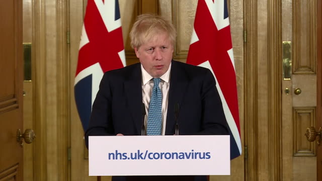 "boris johnson saying ""we must act like any wartime government and do whatever it takes to support our economy"" during the coronavirus outbreak - epidemic stock videos & royalty-free footage"