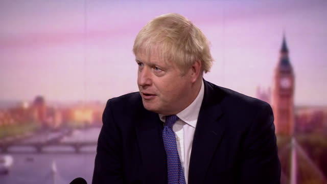 """boris johnson saying """"we must wait and see"""" whether coronavirus infection rates come down in places where there are local lockdowns - scrutiny stock videos & royalty-free footage"""
