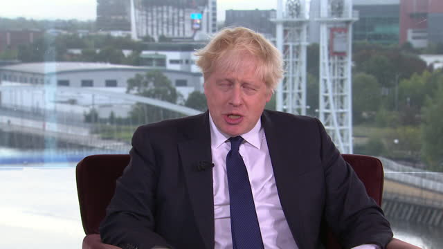 """boris johnson saying women should """"seek help"""" if they don't trust a police officer after the murder of sarah everard - party social event stock videos & royalty-free footage"""