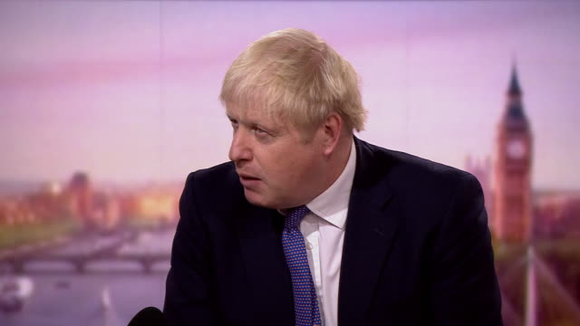 boris johnson talking about factors which may have contributed to a rise in coronavirus cases - moving up stock videos & royalty-free footage