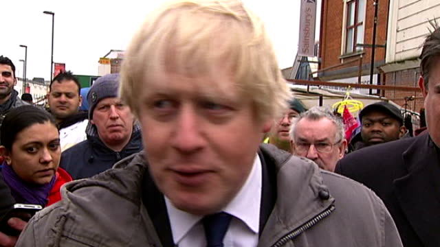 Boris Johnson's image damaged by Eddie Mair interview ENGLAND London Dalston Boris Johnson interview SOT I should have realised that they were going...