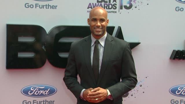 boris kodjoe at bet 2013 awards arrivals on 6/30/13 in los angeles ca - bet awards stock-videos und b-roll-filmmaterial