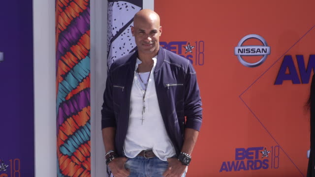Boris Kodjoe at the 2018 BET Awards at Microsoft Theater on June 24 2018 in Los Angeles California