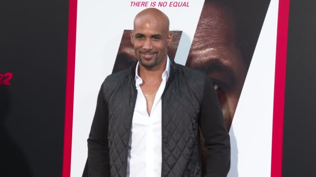 Boris Kodjoe at the 'The Equalizer 2' Premiere at TCL Chinese Theatre on July 17 2018 in Hollywood California