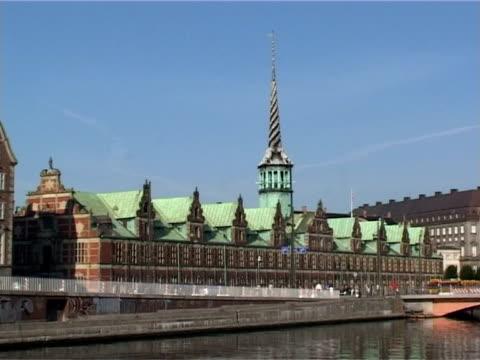 Borsen building - The danish stock exchange in Copenhagen, Denmark