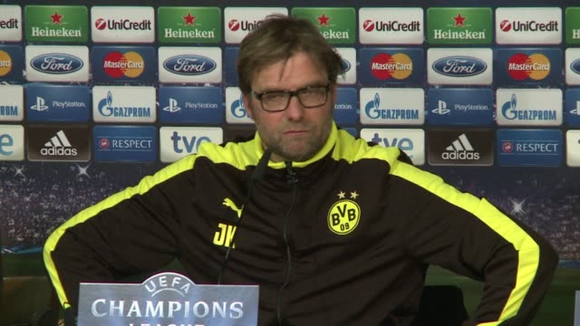 Borussia Dortmund manager Jurgen Klopp has insisted his side wont freeze in the second leg of their Champions League semi final against Real Madrid...