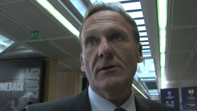 Borussia Dortmund president Hans Joachim Watzke says he is happy to have avoided Bayern Munich after the draw for the semifinals of the Champions...