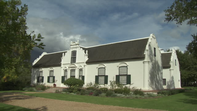 WS Boschendal historical Manor House, Franschhoek, Western Cape, South Africa