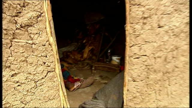 bosco ntaganda pleads not guilty to war crimes and crimes against humanity t06110808 / tx democratic republic of congo kiwanja ext various shots dead... - ボスコ・ンタガンダ点の映像素材/bロール