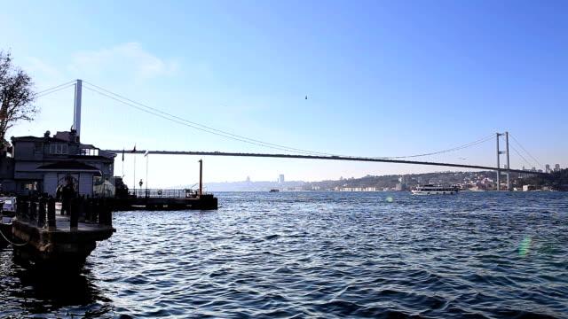 vídeos y material grabado en eventos de stock de hd: puente del bósforo, estambul, turquía - estrecho de bósforo