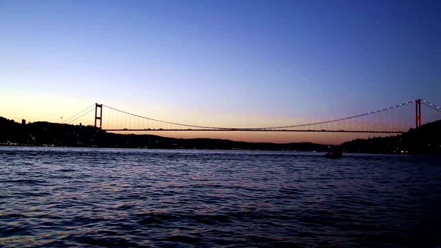 bosphorus bridge - bosphorus stock videos & royalty-free footage