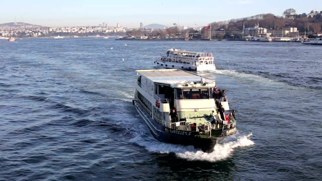 bosphorus istanbul ship city - bosphorus stock videos and b-roll footage