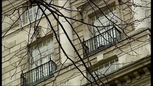 mi5 boss warns of security leaks aiding terrorists england london various shots mi5 building - イギリス情報局保安部点の映像素材/bロール