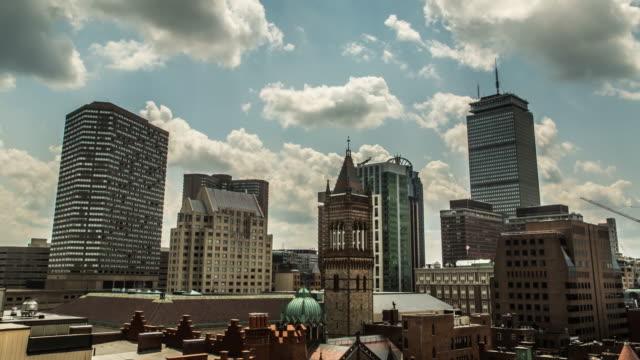 vídeos de stock, filmes e b-roll de boston 4 prudence tower - câmara parada