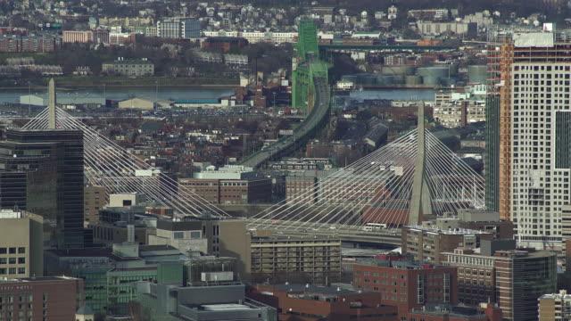 boston bridges - boston massachusetts stock videos & royalty-free footage