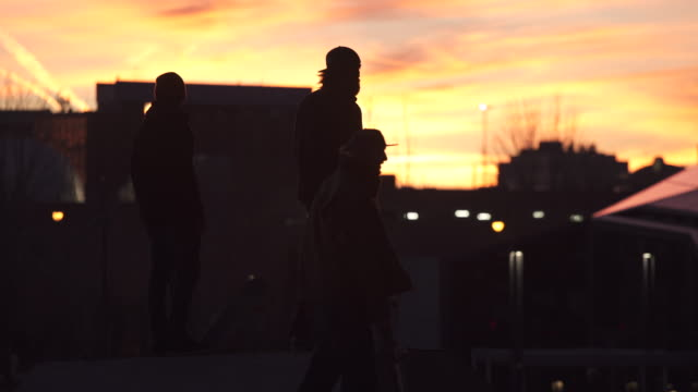 boston city skatepark - skateboard stock videos & royalty-free footage