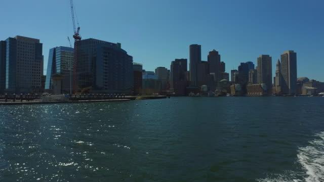 Boston CityScape from River 2 / Boston