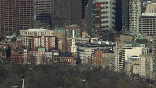 boston cityscape - massachusetts stock videos & royalty-free footage