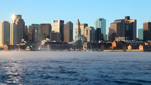 Boston Harbor Arctic Sea Smoke