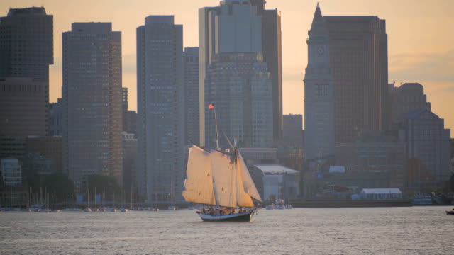 hafen von boston - back bay stock-videos und b-roll-filmmaterial