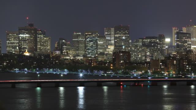 マサチューセッツ州ボストン - チャールズ川点の映像素材/bロール