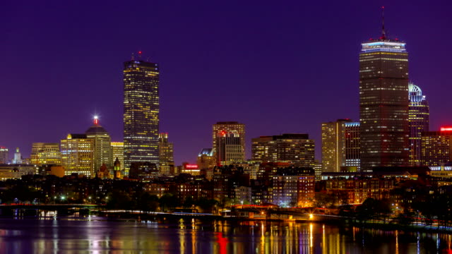 boston, ma - back bay stock-videos und b-roll-filmmaterial