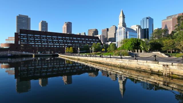 boston, massachusetts - custom house tower stock videos & royalty-free footage