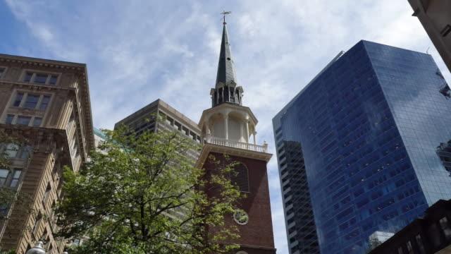 USA Boston Old South Meeting Hall steeple
