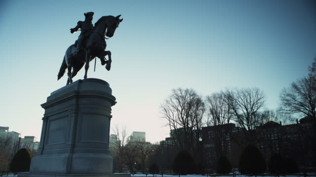 Boston public garden statue