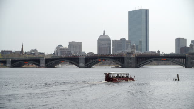 Boston River & CityScape / Boston