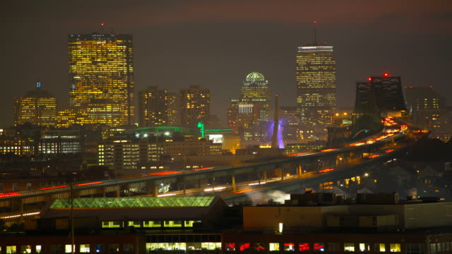 Boston Skyline Timelapse