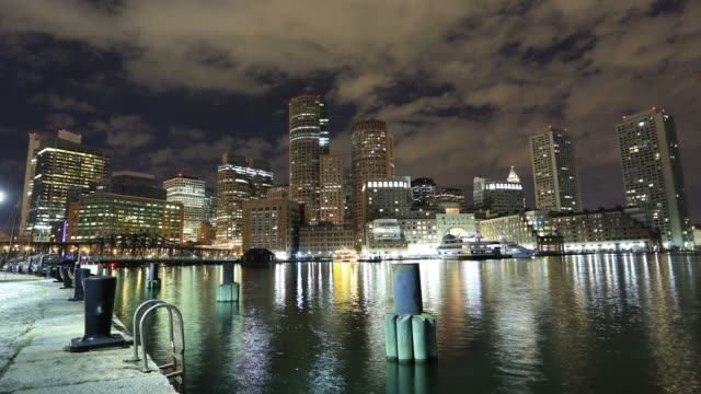 boston skyline - back bay boston stock videos & royalty-free footage