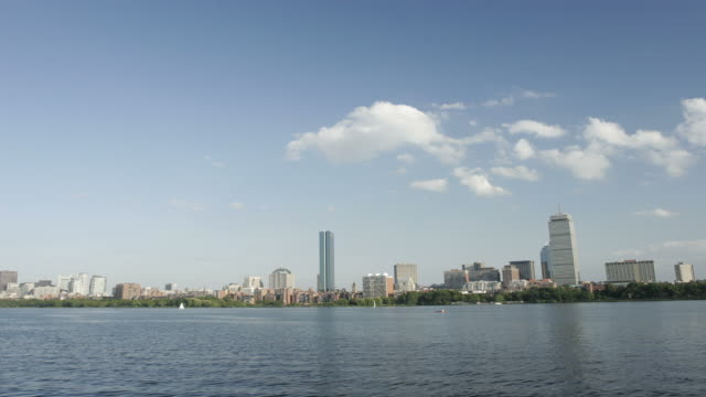 boston time lapse - back bay boston stock videos & royalty-free footage