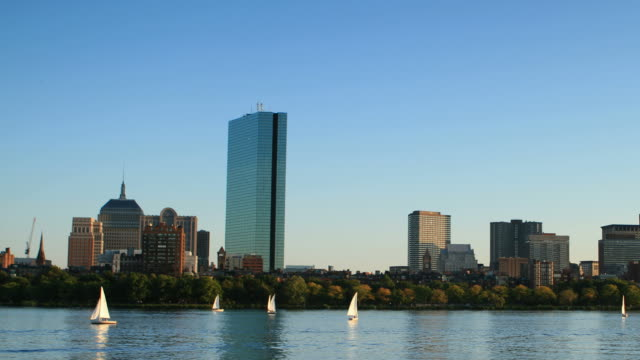 boston - back bay boston stock videos & royalty-free footage
