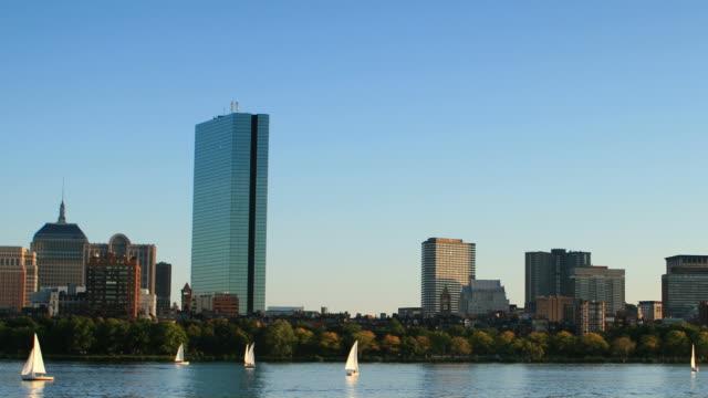 ボストン - チャールズ川点の映像素材/bロール