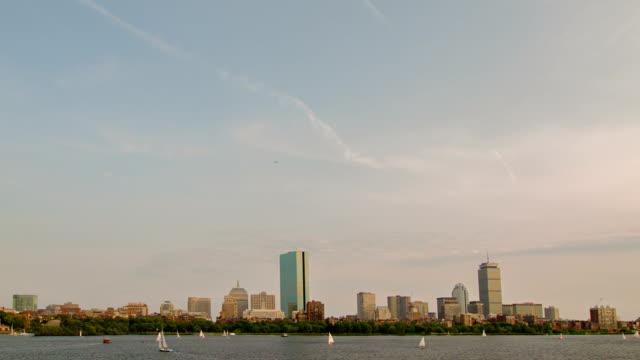 vidéos et rushes de de boston - pont longfellow