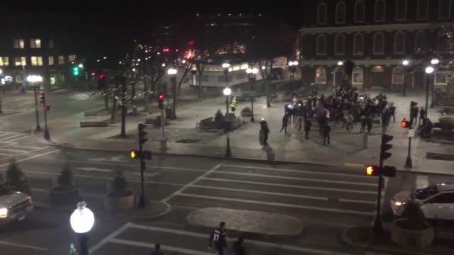 Bostonians Celebrate Patriot' Super Bowl Win