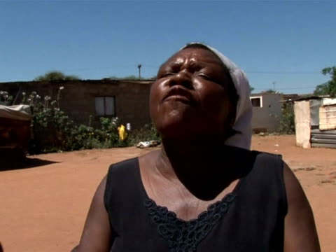 bostwana is still suffering under an hiv/aids crisis which is among the worst in the world, and among its most vulnerable are the children left in... - retrovirus video stock e b–roll