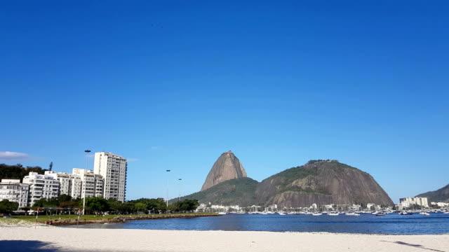 在里約熱內盧的博塔弗戈海灘 - 自然奇觀 個影片檔及 b 捲影像