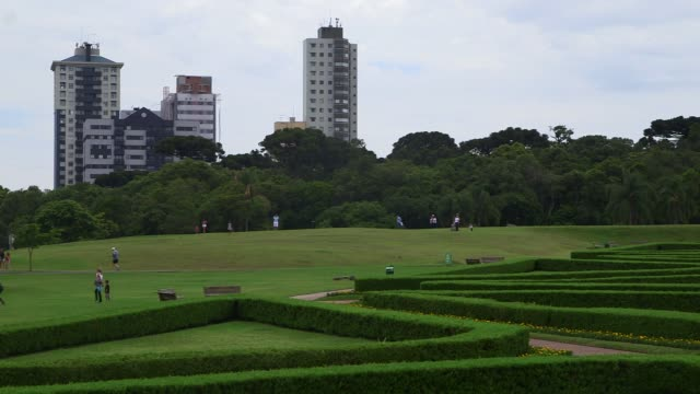 pan botanical garden of curitiba general views of curitiba ahead of the 2014 fifa world cup shot on 14th december 2013 - brasile meridionale video stock e b–roll