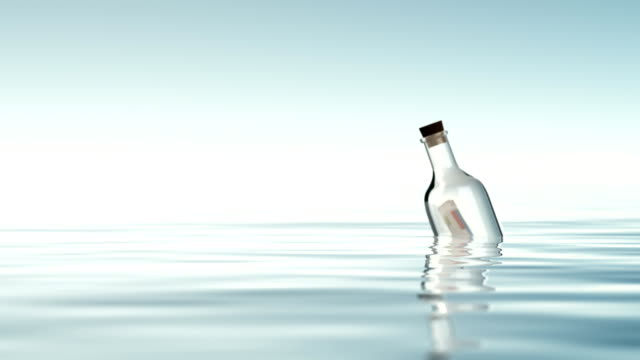 bottle with financial statements. - bank statement stock videos & royalty-free footage