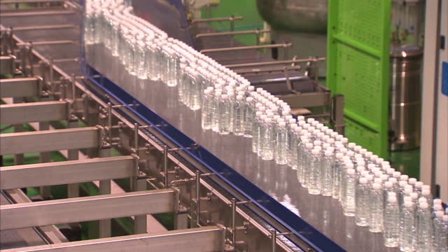 Bottled water factory production line