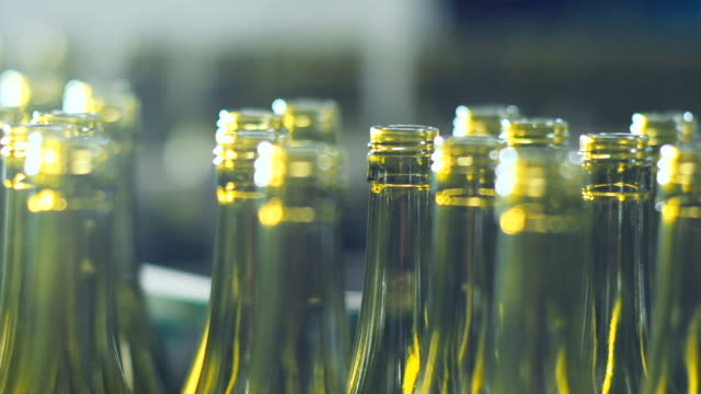bottling at vinery - food processing plant stock videos and b-roll footage